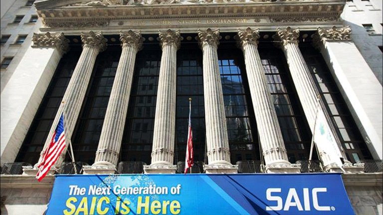SAIC Shares Drop After Government Contractor Misses Revenue Mark