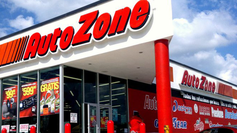 AutoZone Rises as Earnings and Same-Store Sales Top Estimates