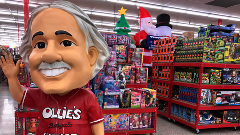 Ollie's Bargain Outlet Slumps After Chairman and CEO Butler Dies at 61