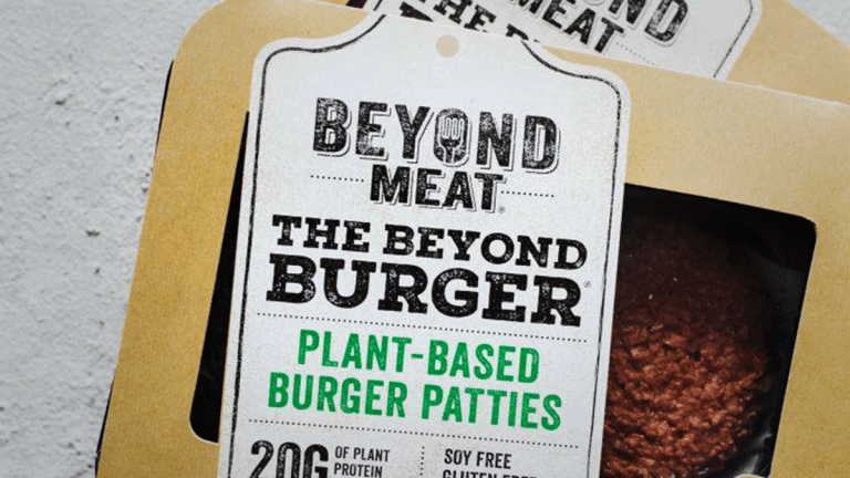 Trading McDonald's, Beyond Meat as They Run Trials