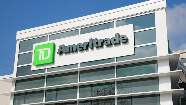 Avoid TD Ameritrade as It Crashes Through Critical Support