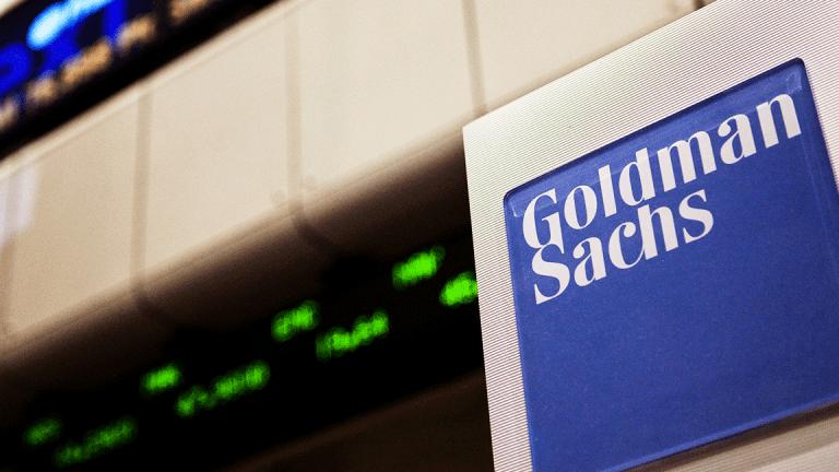 Goldman Shares Rebound after Credit Suisse Afternoon Upgrade