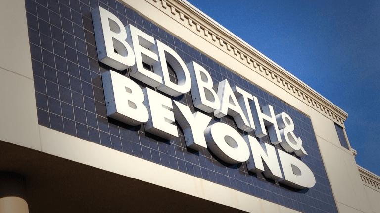 Bed Bath & Beyond Plunges 21% After Slashing Sales Forecast on China Tariffs