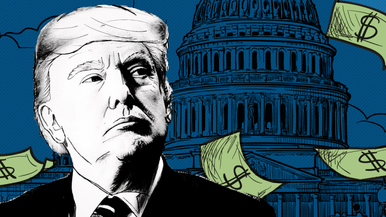 Trump Pledges 'Substantial' Middle Class Tax Cuts as Deficit Tops $1 Trillion
