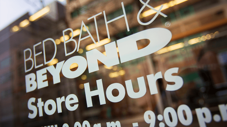 Bed Bath & Beyond Soars as Report Says Activists Targeting Its Board