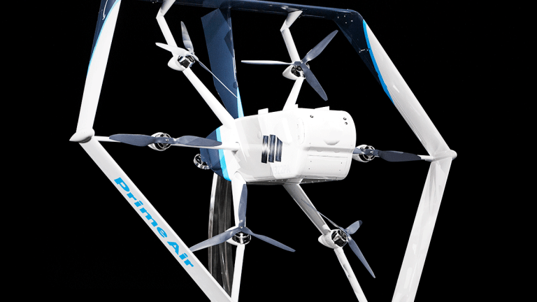 Amazon Shows Off New Prime Air Delivery Drone, Receives FAA Approval