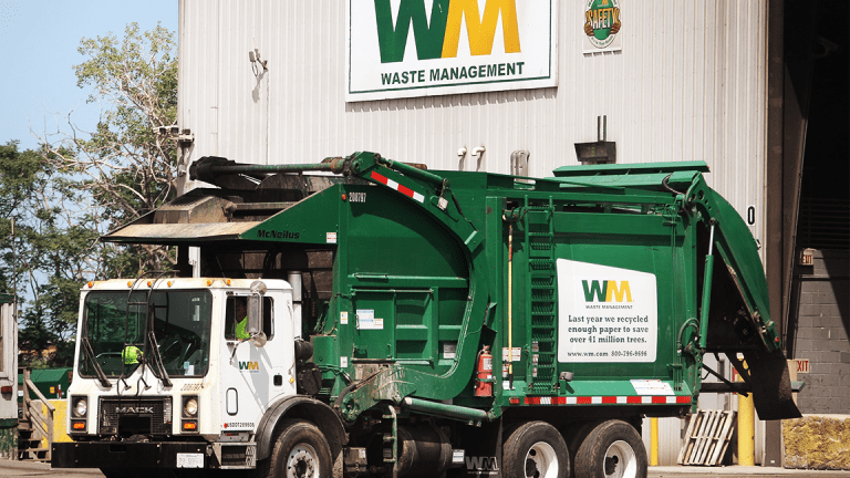 Waste Management Jumps on 'Exceptional' Earnings, Strong 2018 Guidance