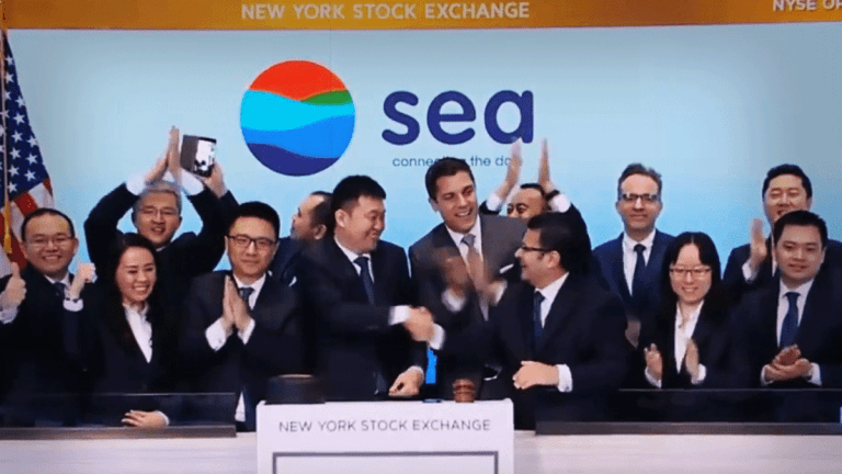 Shares of Sea Ltd. Sink After Big E-Commerce Loss
