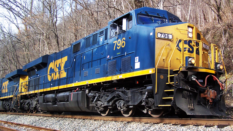 Here's How CSX Corp. Can Lead Transports Higher
