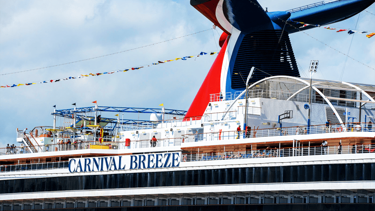 Carnival Docked After SunTrust Downgrade to Hold