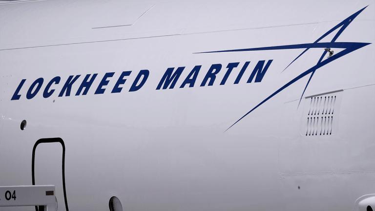 Lockheed Martin Soars on First-Quarter Earnings Beat, Raised Outlook
