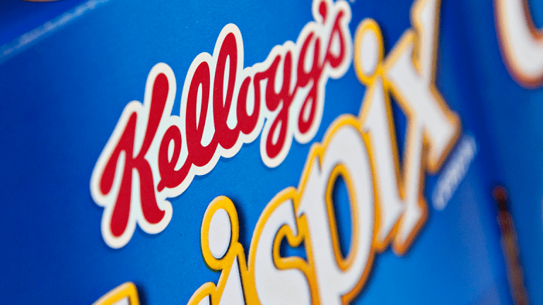 Kellogg Drops Following Exploration of Cookie and Snack Unit Sale