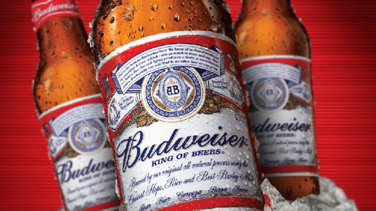 Shares of Budweiser Brewer AB InBev Frothing Over Possible Asian IPO