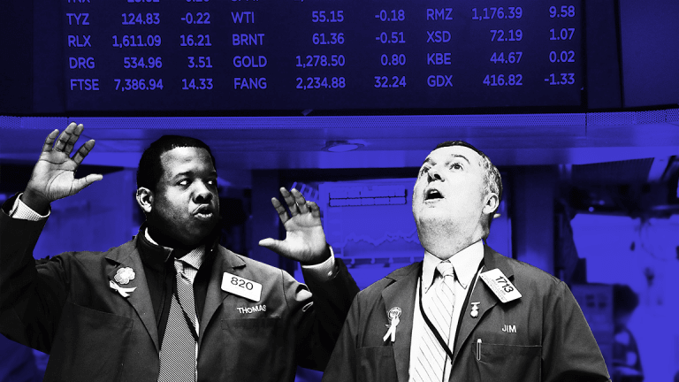 Dow Breaks Through 25,000 for the First Time -- Here Are the Lagging Stocks