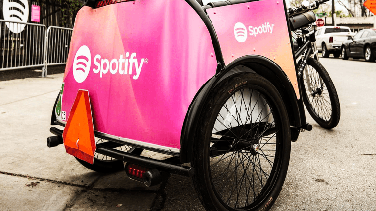 Spotify Drops on News Amazon Could Offer Free-Music Service Within Days
