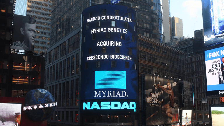 Myriad Genetics Sinks on Fourth-Quarter Earnings and Revenue Miss