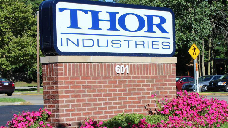 Thor Industries Shares Soar on Fourth-Quarter Profit Beat