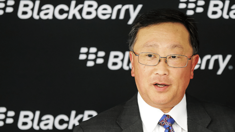 BlackBerry CEO: What Everyone Is Forgetting About During the Tech Stock Rout