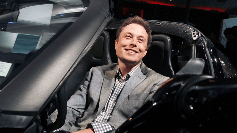 Tesla Shares Jump as Musk Promises 'Full Self-Driving' Features This Summer