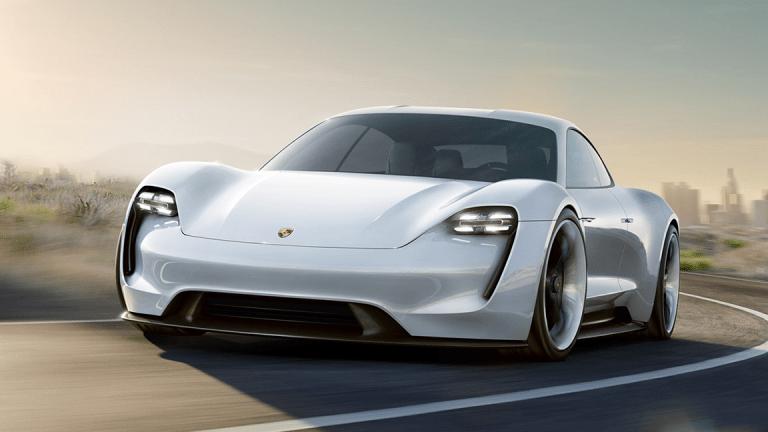 Tesla's Competition? Meet Porsche's 600hp Electric Supercar