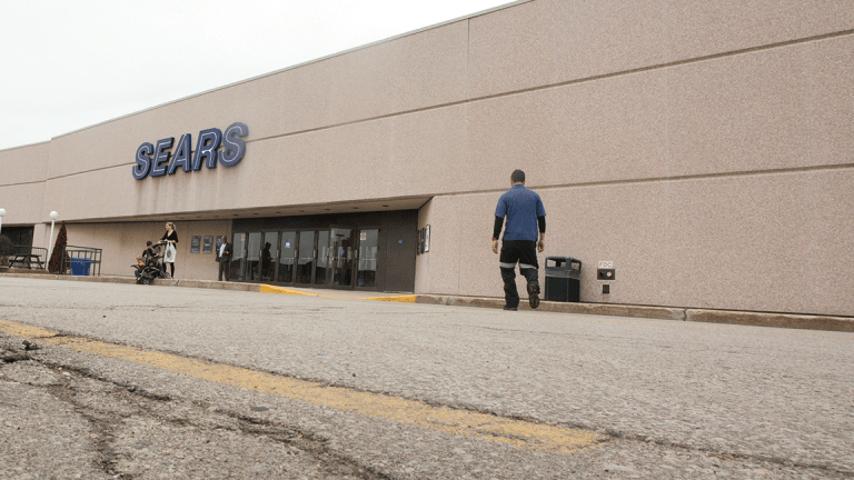 Sears Stock Surges After Announcement of Possible Asset Sales