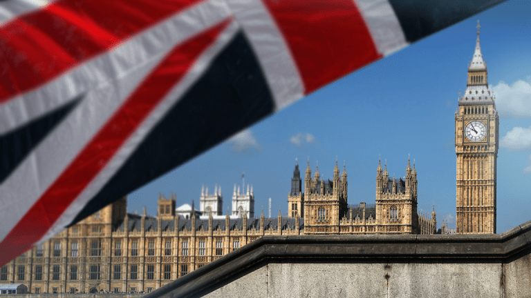 London Police Arrest Man After Car Crashes Barriers Near Houses of Parliament