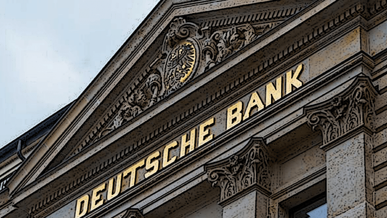 Deutsche Bank Shares Pop Despite Fed Stress Test Fail, But Concerns Remain