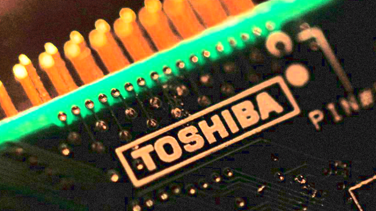 Toshiba Surges on Reports of Massive Layoffs