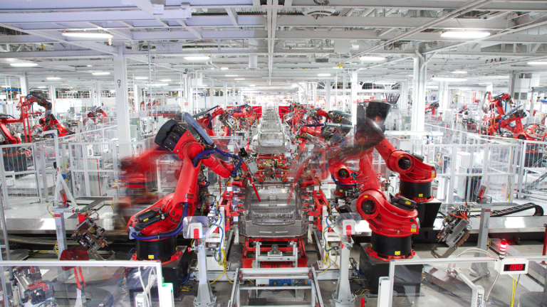 Here's Where We Are in Tesla's Production Curve