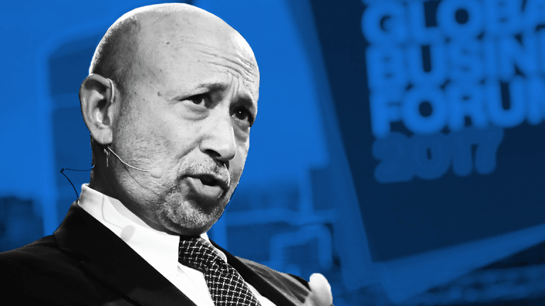 Goldman CEO Blankfein Won't Criticize Trump on Stoking China Trade War Fear