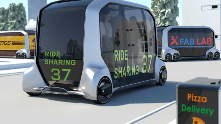 Toyota Partners With Amazon, Uber on These Crazy Self-Driving Mobile Stores