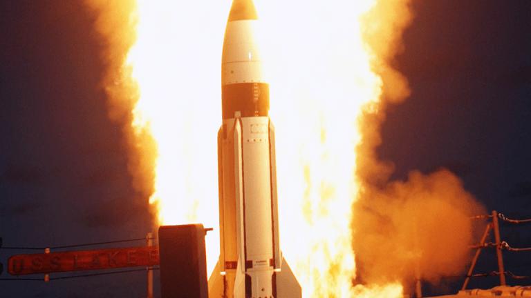 Jim Cramer Likes Raytheon as Trump Boosts Defense Spending
