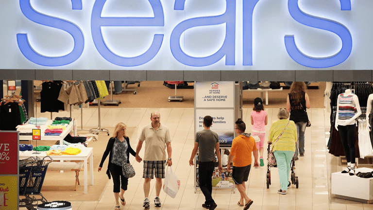 Sears Stock Soars After Amazon Deal Announcement
