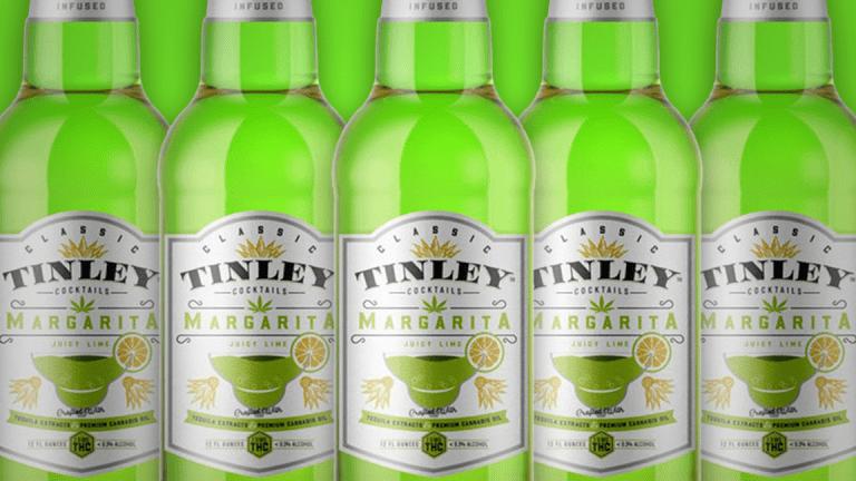Tinley Beverage PIPE to Fund Cannabis Beverages
