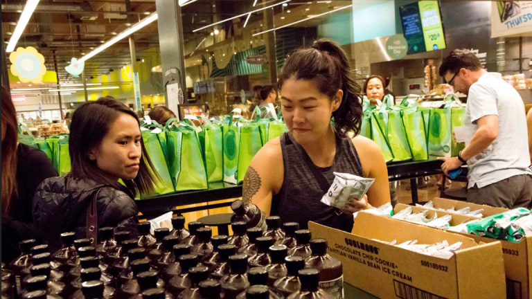 Whole Foods Price Cuts Attract Walmart Customers - But Only With Deep Pockets