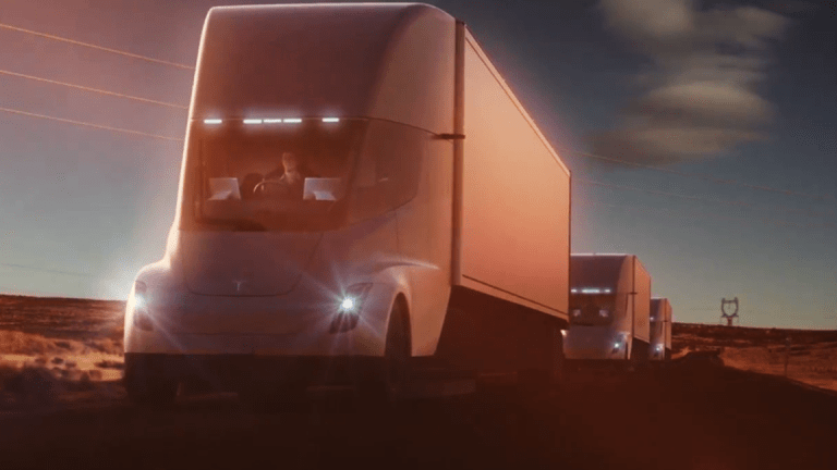 Why Walmart's CEO Is Excited About His Order of New Tesla Semi Trucks