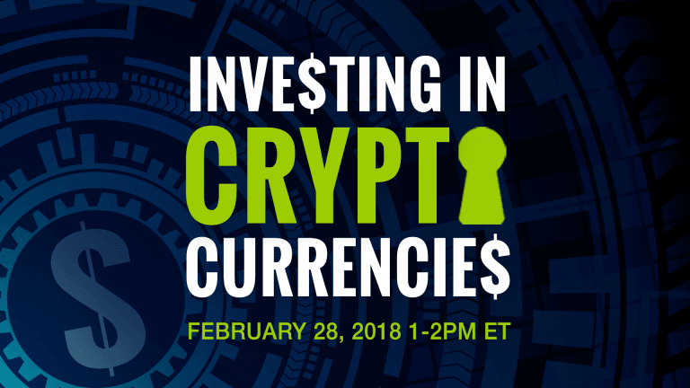 Investing in Cryptocurrencies: Webinar