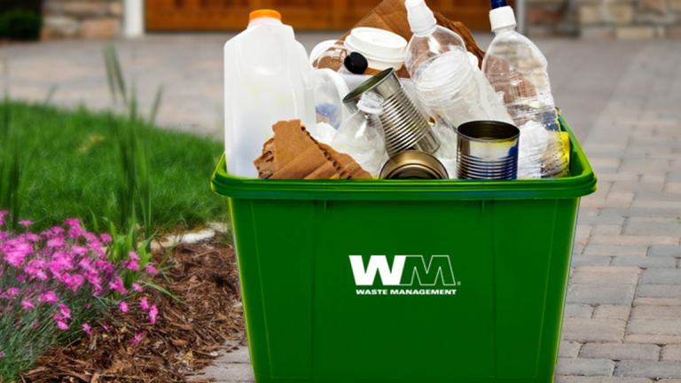 Waste Management Rises After Goldman Says It Likes Garbage
