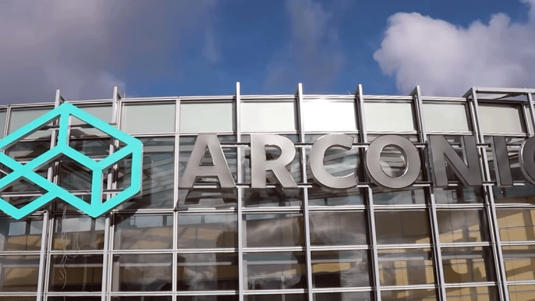 Arconic Falls as Earnings Outlook Cut Due to Rising Aluminum Prices
