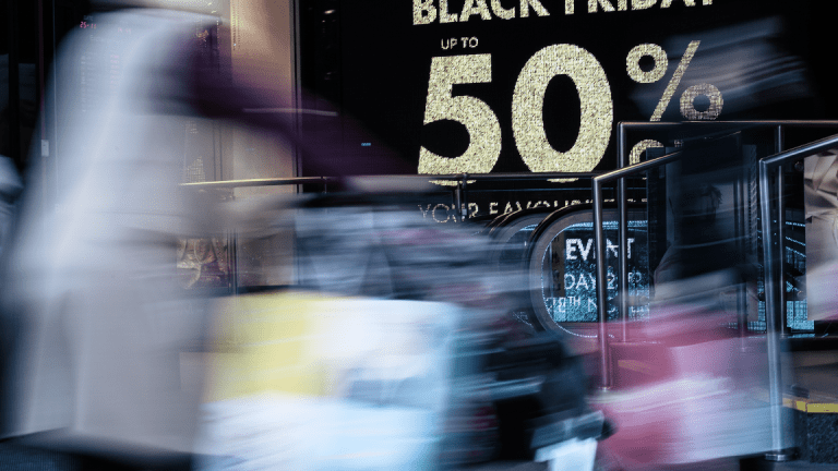 Wall Street Poised for Gains as Retailers Gobble Up Strong Black Friday Sales