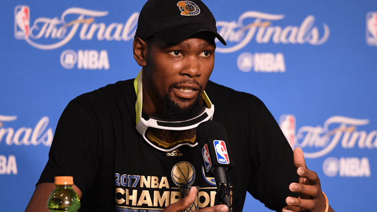 Kevin Durant Reveals His Approach to Investing in Startups