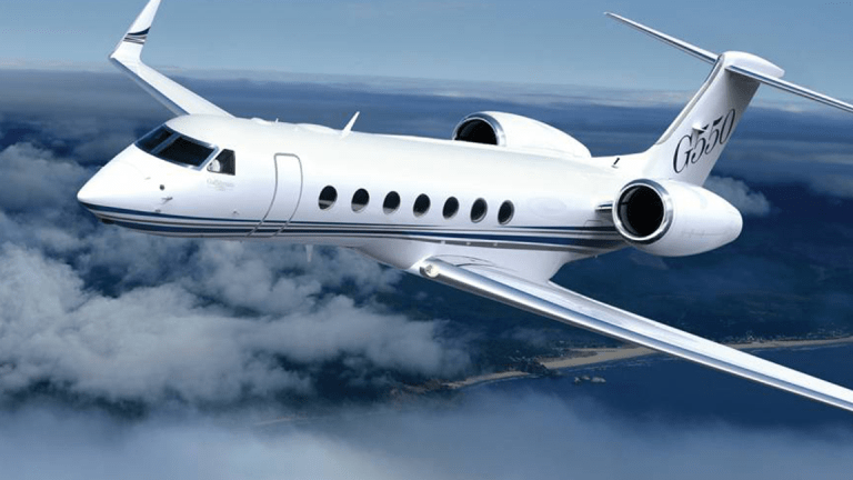 Gulfstream Jets Are a Surprise Winner of Tax Reform