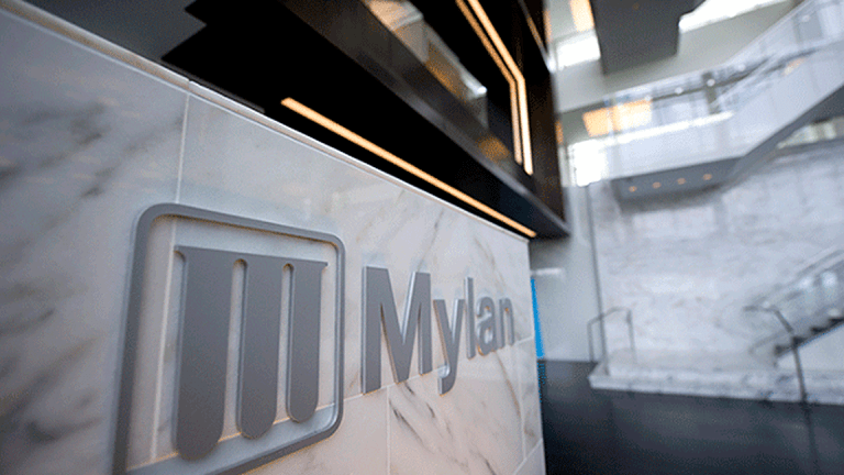Mylan's Stock Gets Bump After Investor Day