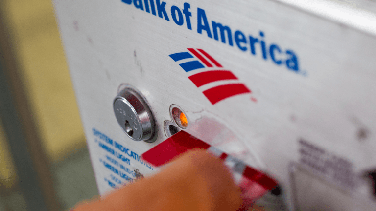 Bank of America Takes Profit Hit From Tax Law, Bond-Trading Slump
