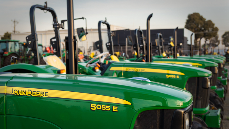Deere & Co., Analog Devices, Mercadolibre: 'Mad Money' Lightning Round