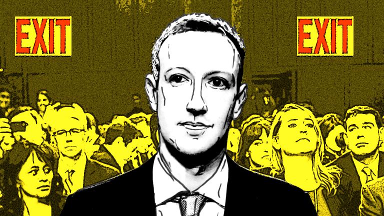 Facebook's Stock Spikes as Mark Zuckerberg Testifies Before Congress--Live Blog
