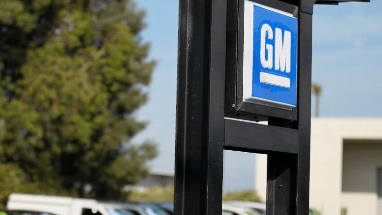 A General Motors Stock Crash Is Speeding Toward Investors