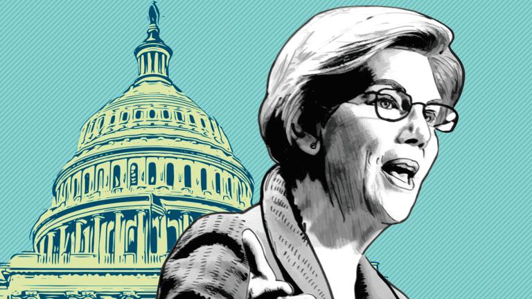 Elizabeth Warren Ups Ante With Billionaire Calculator in Wealth Tax Fight