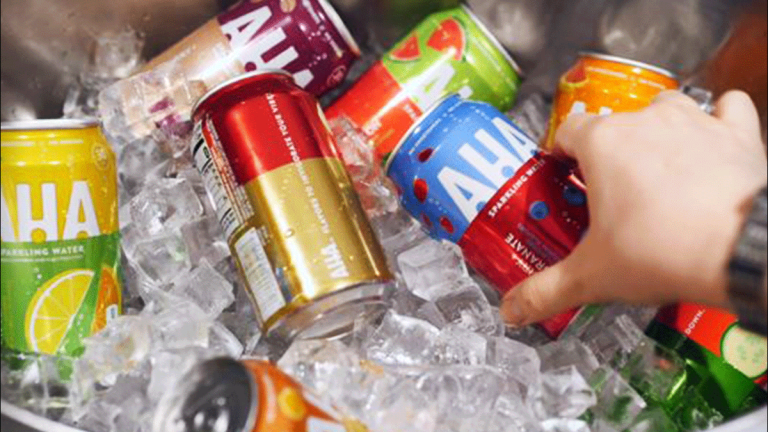 Coca-Cola Jumps Into Sparkling Water Segment With New 'AHA' Beverage