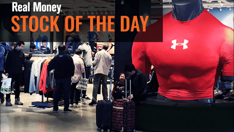 Under Armour Chart Points to New Lows on Earnings, Accounting Probe